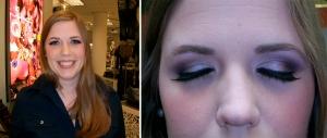 wedding makeup - after