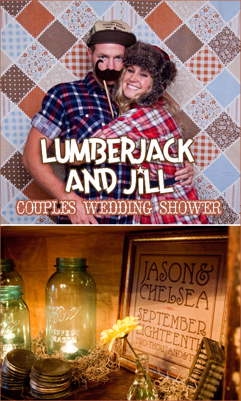lumberjack and jill bridal shower