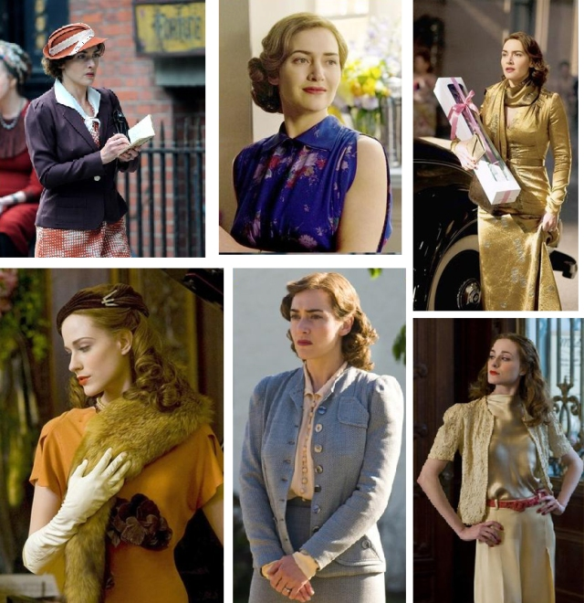 mildred pierce costumes