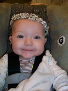 Bean in a tiara