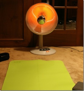 hot yoga heater