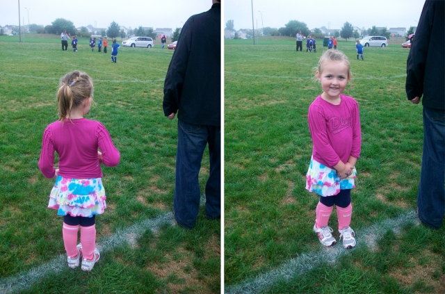 Mack's soccer game