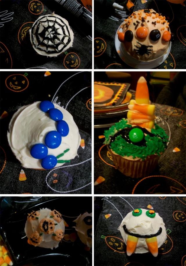Spider web, hand-drawn spider, caterpillar, Terrace Hill, mini pumpkins, Dracula