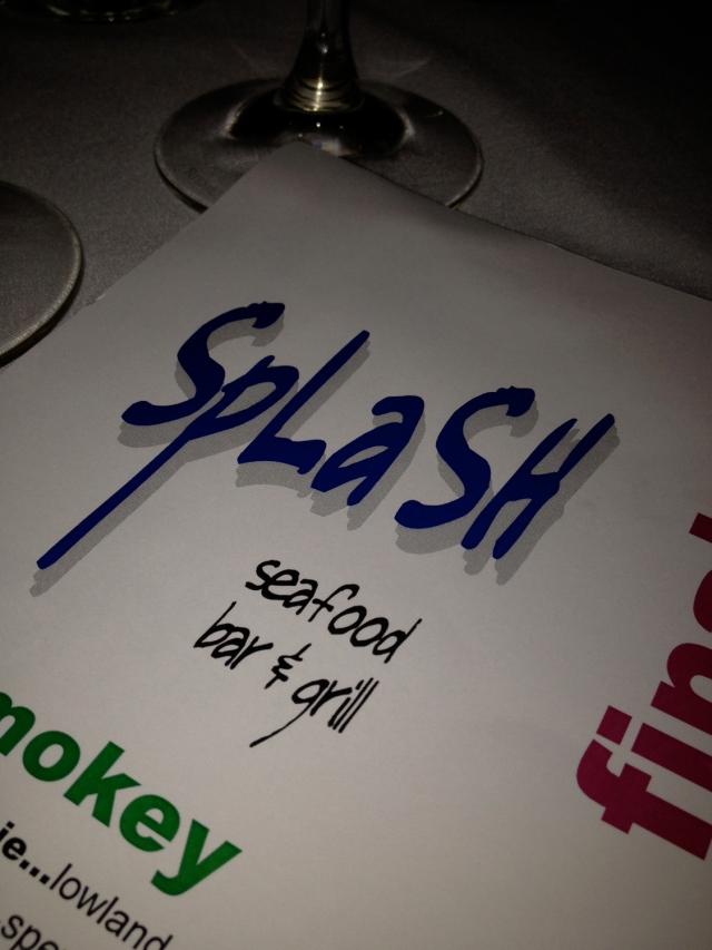 A fabulous birthday dinner at Splash.