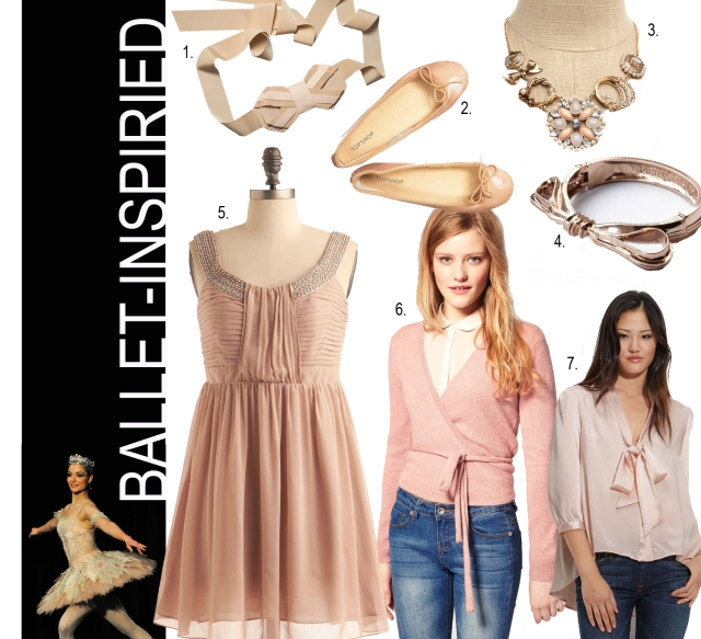 Ballet-inspired fashion