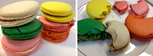 La Mie French macaroons