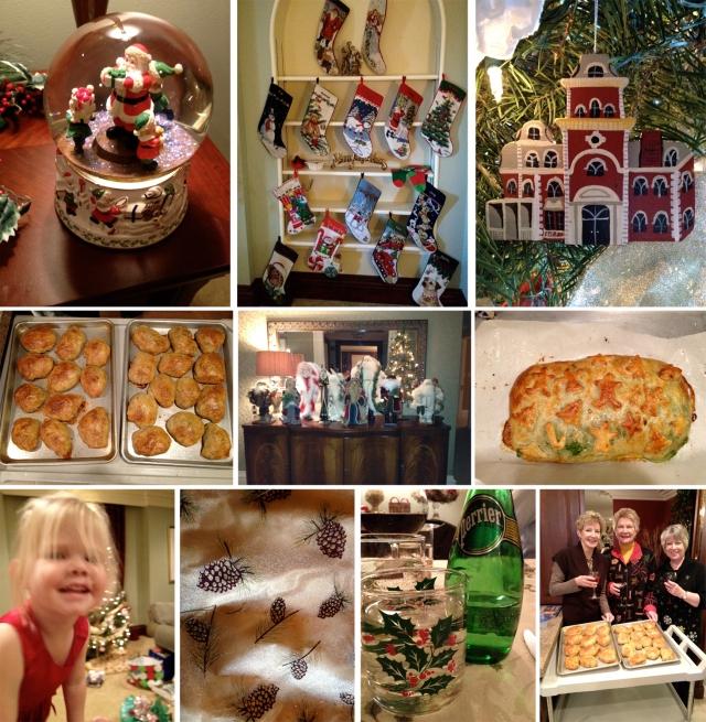 Branstad Christmas Day Dinner