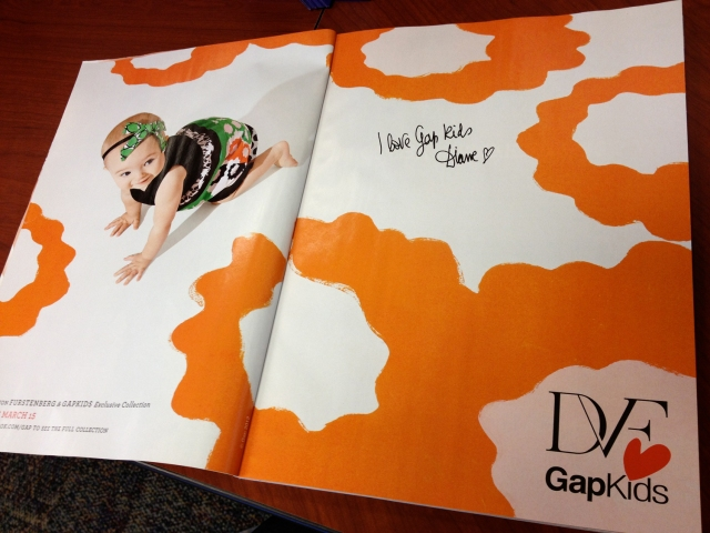 DVF for Gap ad