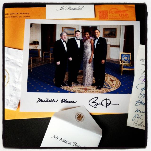 White House lovin'