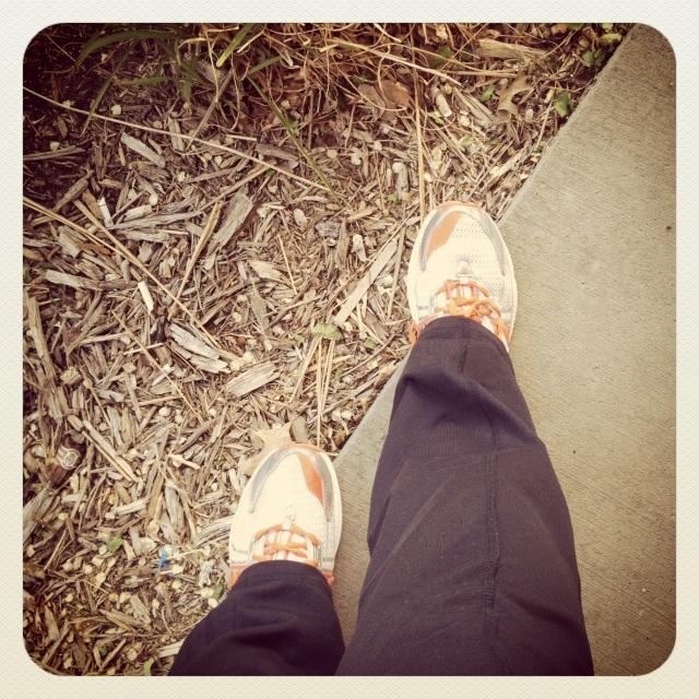 Walk with my bestie.