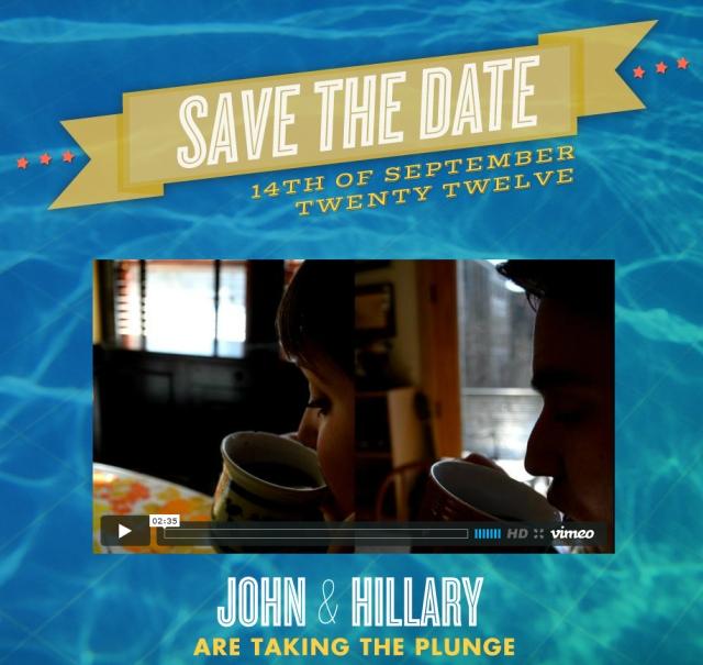 John Hillary Save the date