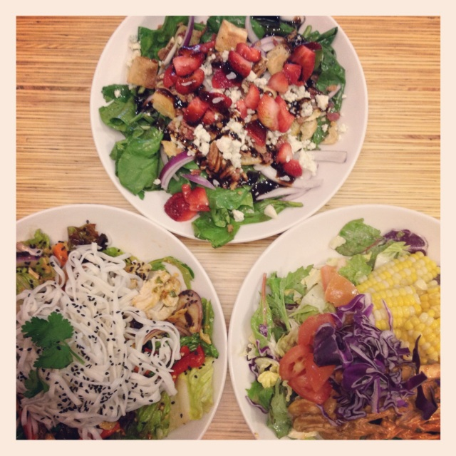Tried out new summer salads from Noodles&Co