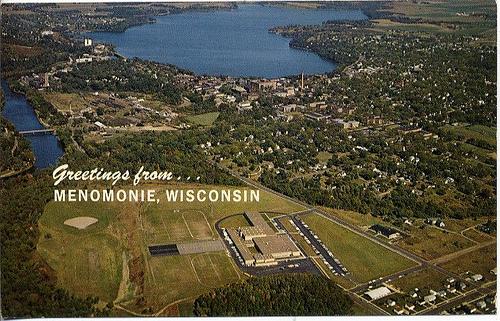 Menomonie postcard
