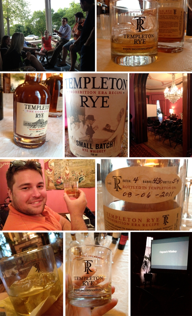 Templeton Rye at T.Hill