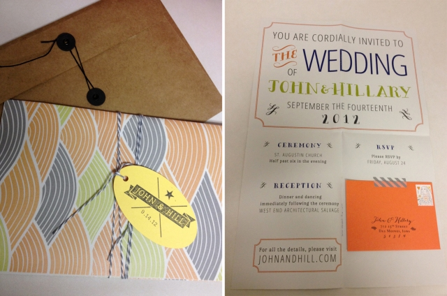 Poster wedding invitation? Yes, please.