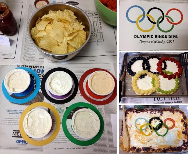 Office Olympics potluck