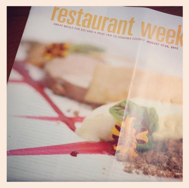 DSM Restaurant Week 2012