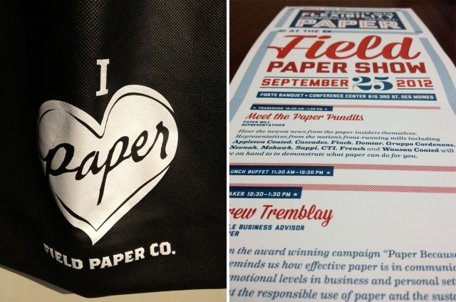 Field Paper Show 2012