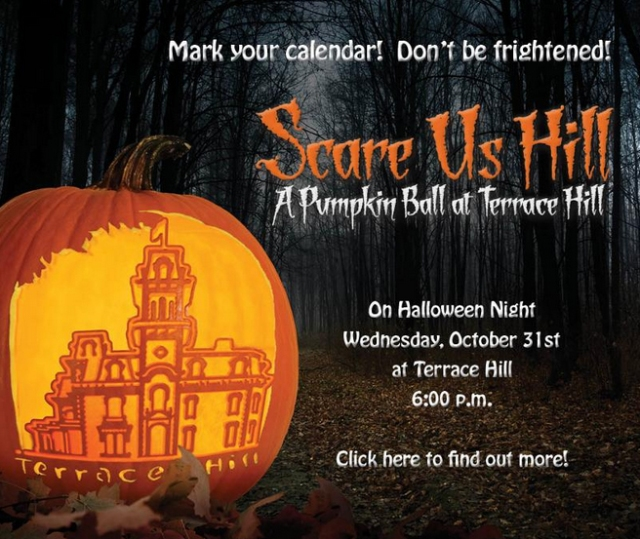Scare Us Hill Save the Date