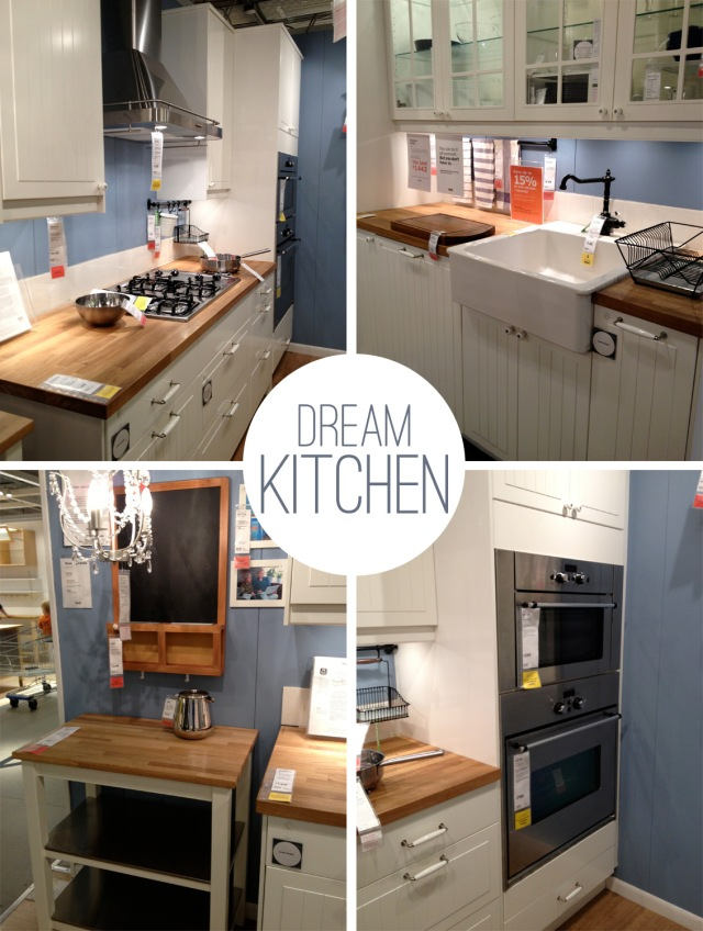 Dream kitchen at IKEA