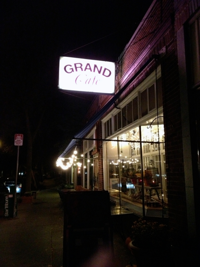 Amazing dinner at Grand Cafe
