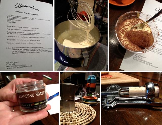 Cooking with Alessandra - Tiramisu
