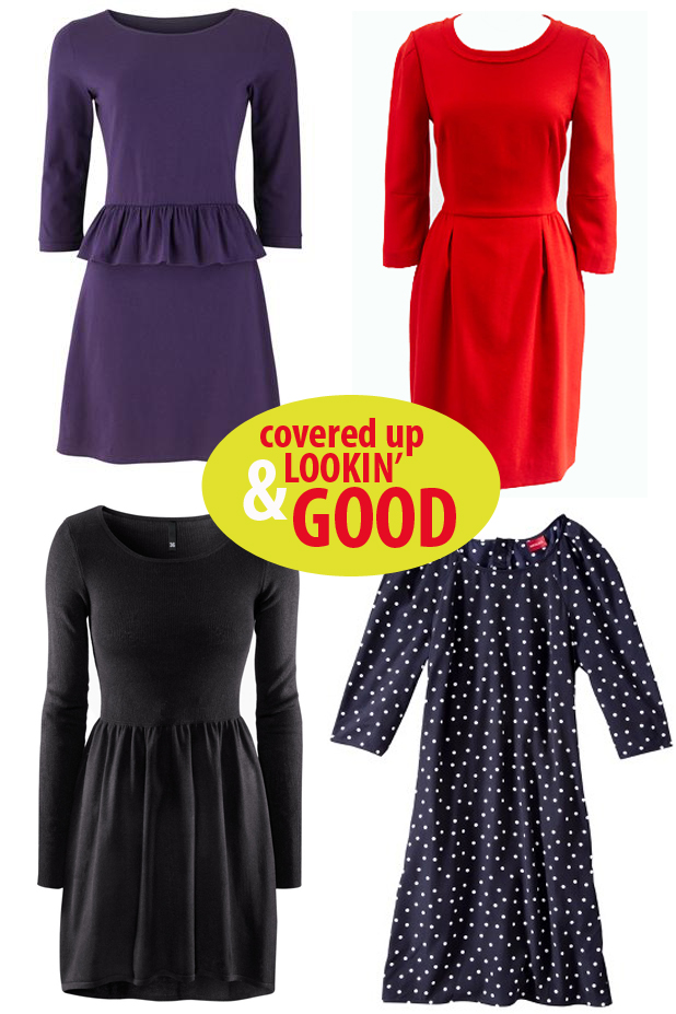 Long sleeved dresses