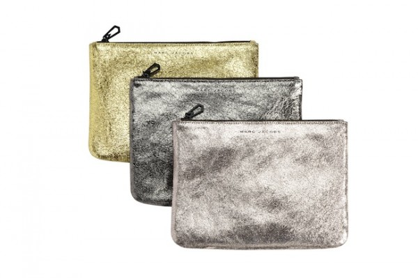 Marc Jacobs for Target+Neiman Marcus, Gold Pouch, $69.99