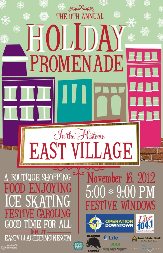 East Village Holiday Promenade 2012
