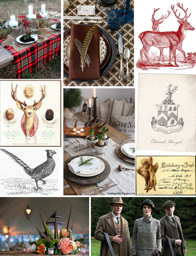hunting themed party