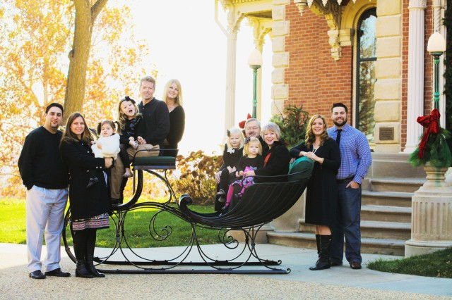Branstad Family Christmas Photo 2012