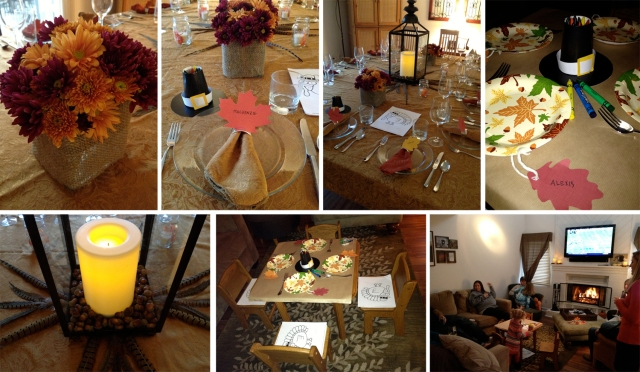 Turducken tablescape
