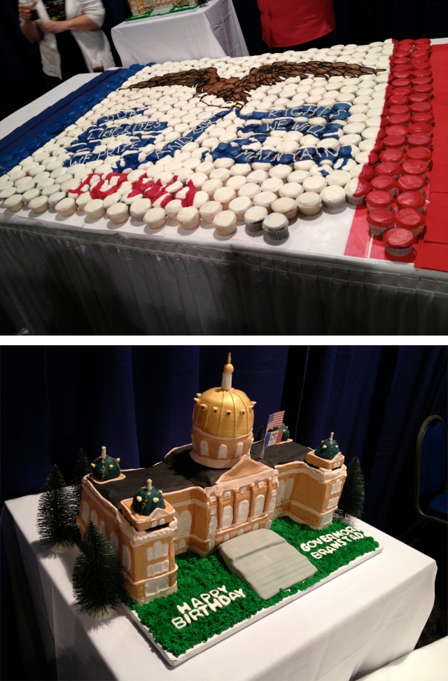 Terry's 66th Birthday - cake