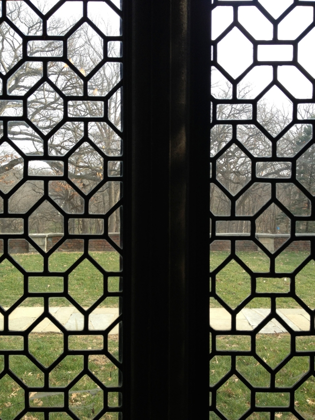 Salisbury House windows