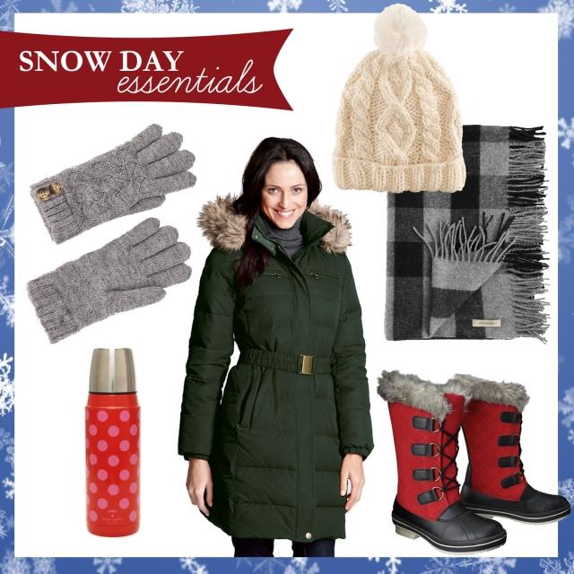snow day essentials 2012
