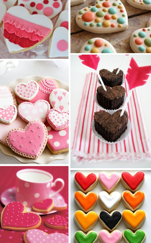 Hearts - cookie frosting ideas