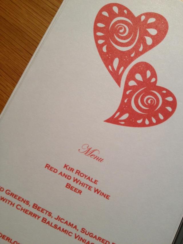 LOVEly menu cards