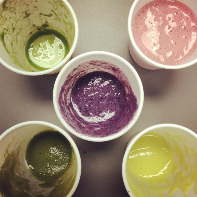 Liquid lunch via smoothies