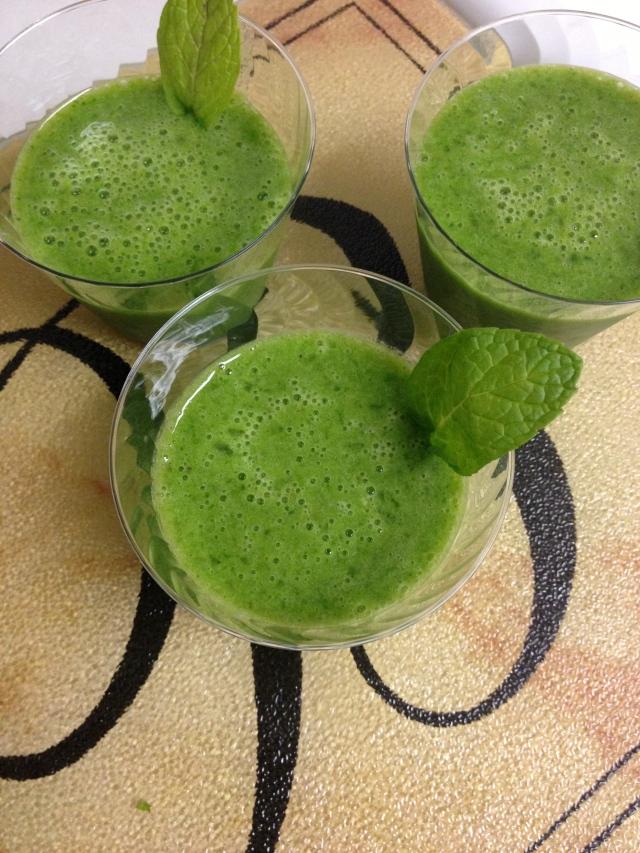 Frozen Green Mojitos