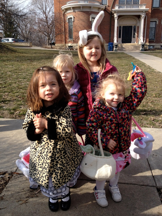 Branstad Easter egg hunt