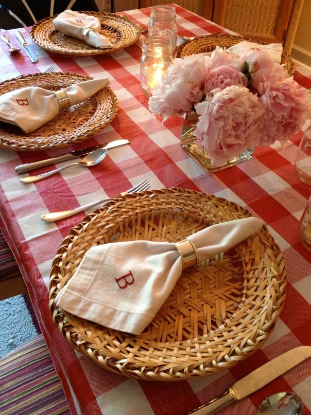 BBQ tablescape