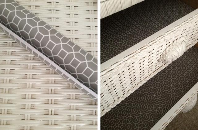Nursery drawer liners