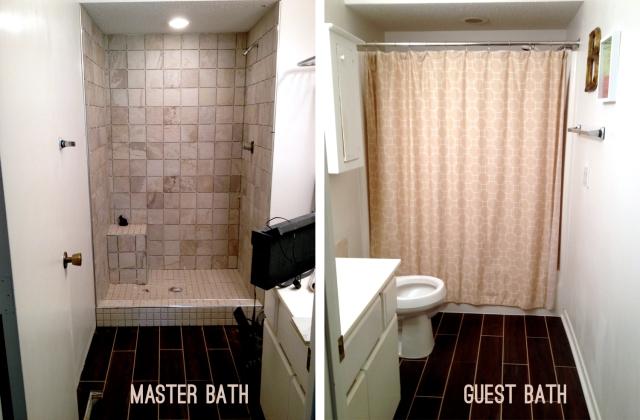 Bathroom remodel - progress