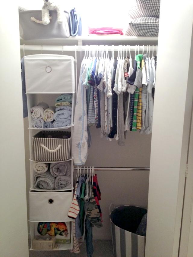 Baby B closet - 20 weeks