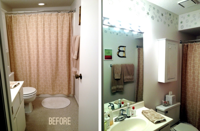 guest bathroom remodel: before