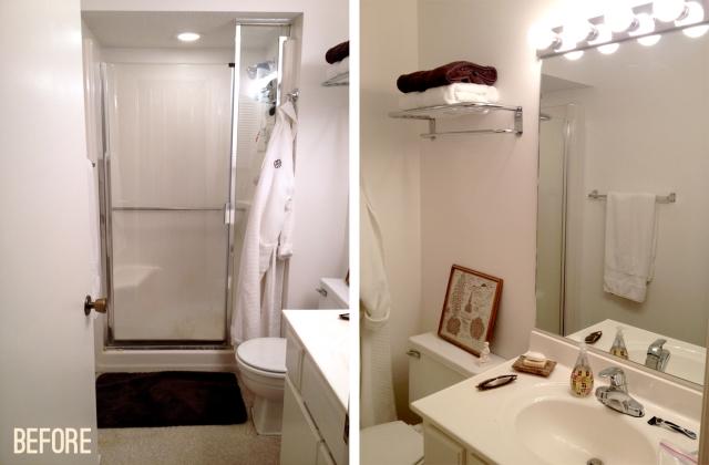 master bathroom remodel: before