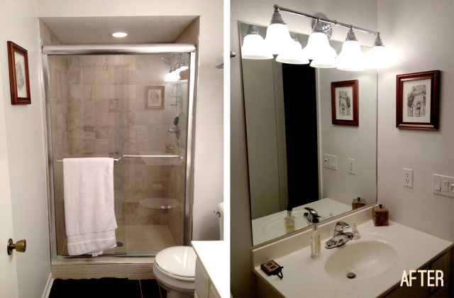 master bathroom remodel: after