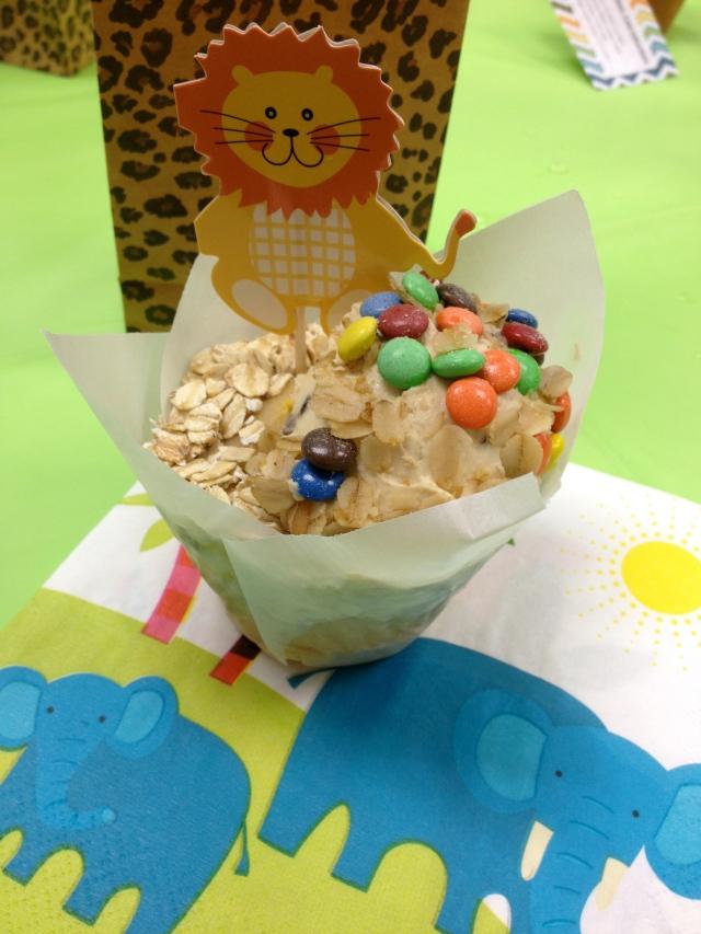 Sully cupcake