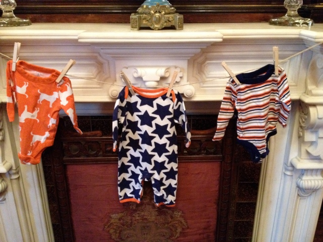 Terrace Hill baby shower - outfits