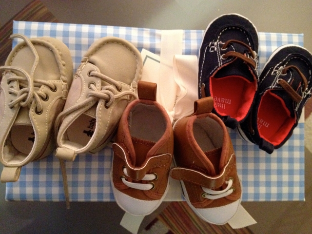 Baby B's shoe collection
